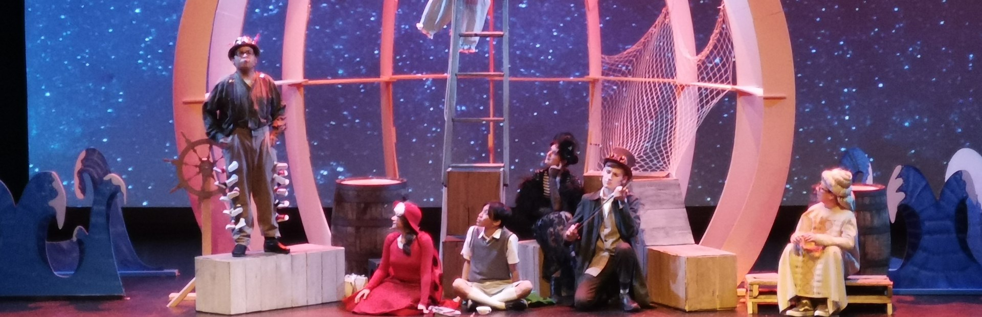 West Kildonan Collegiate's James and the Giant Peach Production
