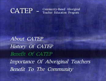 Benefit of CATEP