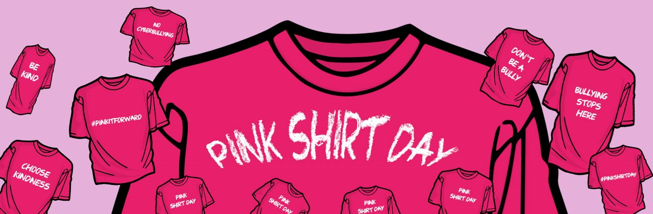 Pink Shirt Day is February 24, 2021