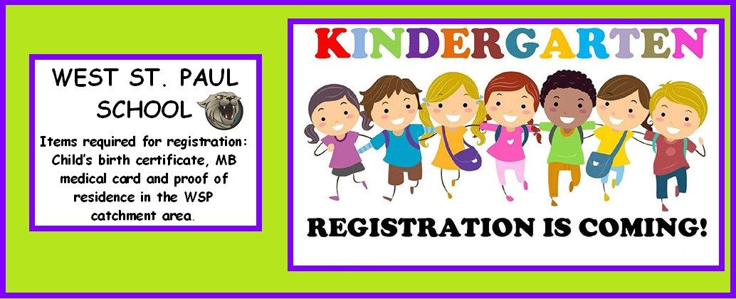 2020-2021 KINDERGARTEN REGISTRATION BEGINS ON MONDAY, FEBRUARY 24.
